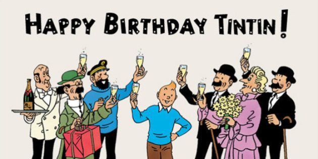 Tintin Turns 86 By Expressing Solidarity With Paris Terror