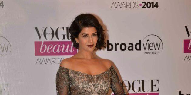 MUMBAI,INDIA JULY 22: Nimrat Kaur at Vogue Beauty Awards in Mumbai.(Photo by Milind Shelte/India Today...