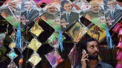 'Modi-Obama' Kites A Hit In Gujarat This Makar