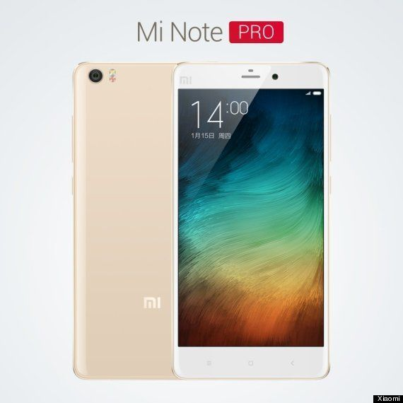 Xiaomi Announces Its New Flagship Mi Note And Mi Note Pro, Mi 4 Launch Date In