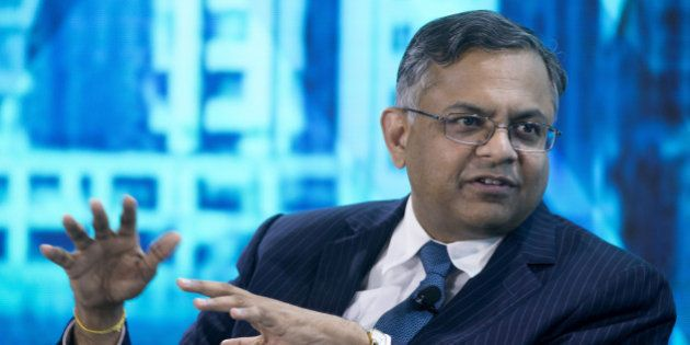 Natarajan Chandrasekaran, chief executive officer and managing director of Tata Consultancy Services...