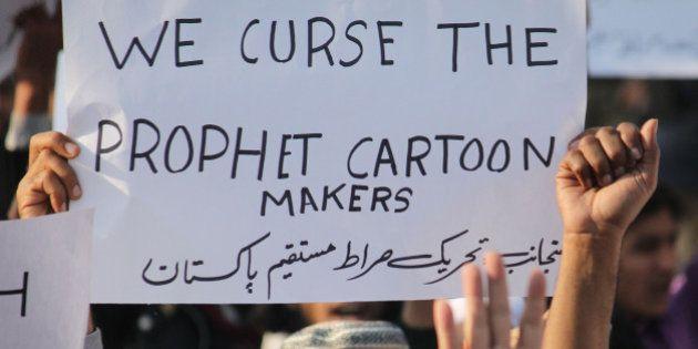LAHORE, PUNJAB, PAKISTAN - 2015/01/15: Activits of a Pakistani religious Party (Tehreek-e-Siraat-e-Mustaqeem...