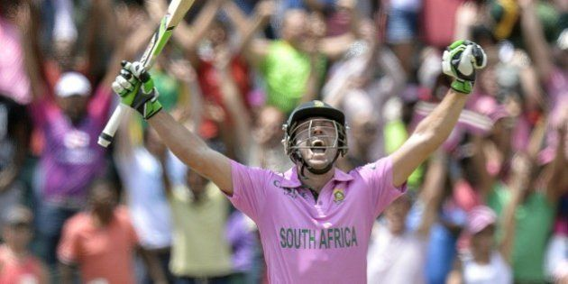 AB De Villiers Cracks Fastest One-Day International Ton In 31 Balls Against West