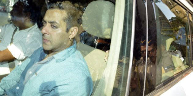 MUMBAI, INDIA DECEMBER 03 : Salman Khan in Mumbai session court for his hearing in hit and run case.(Photo...