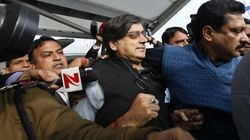 Tharoor Questioned By Delhi Police