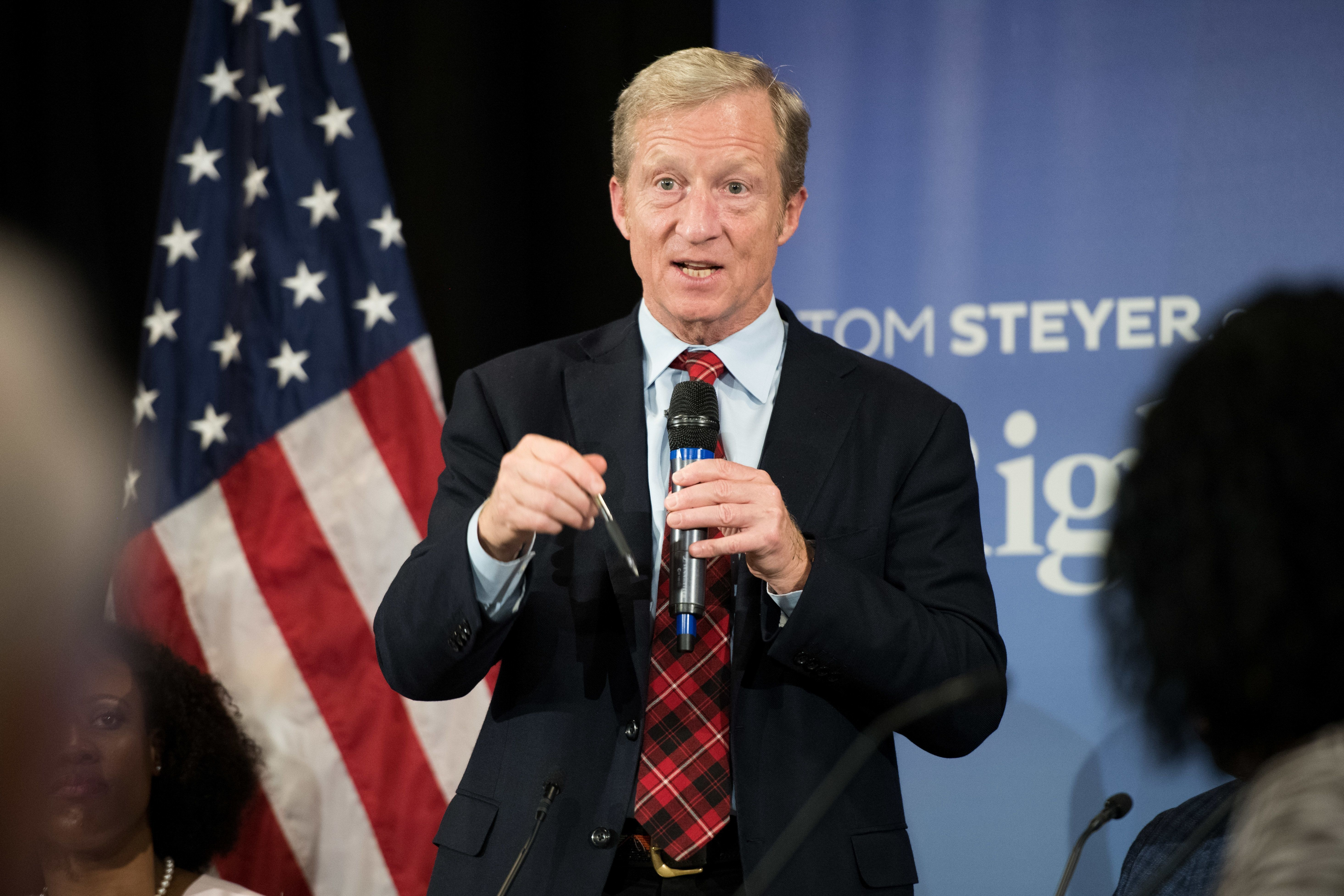 Steyer is part of a large list of potential candidates for the Democratic Party's nomination in 2020. The tour could be a make-or-break stretch for his presidential ambitions.