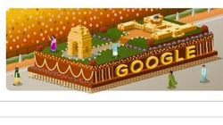 Google's Doodle Tribute To India's 66th Republic