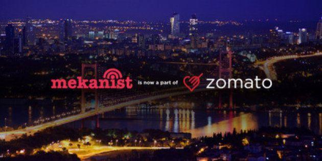 Zomato Acquires Turkey's Mekanist In All Cash