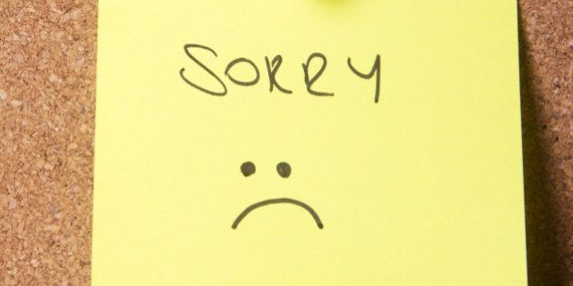 5 Situations Where The Word Sorry Means Nothing Huffpost India