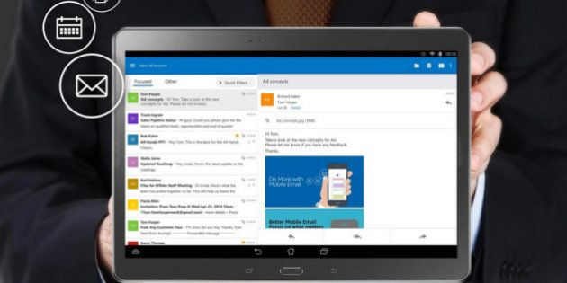 Microsoft Launches New Outlook App For iOS,