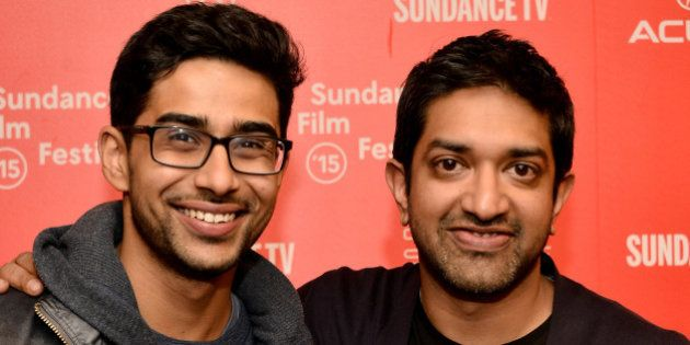 PARK CITY, UT - JANUARY 24: Actor Suraj Sharma (L) and director Prashant Nair attend the 'Umrika' Premiere...