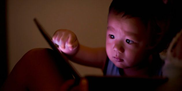 Using Tablets Or Smartphones To Pacify Kids May Damage Their Brains: