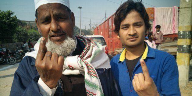 Photos: Delhi Votes As Election Battle Rages