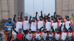 19 Youths Cycle To Delhi To Highlight J&K Flood