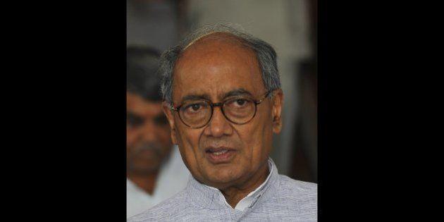 NEW DELHI, INDIA - JULY 21: Senior leader of Congress Digvijay Singh at the Parliament during budget...
