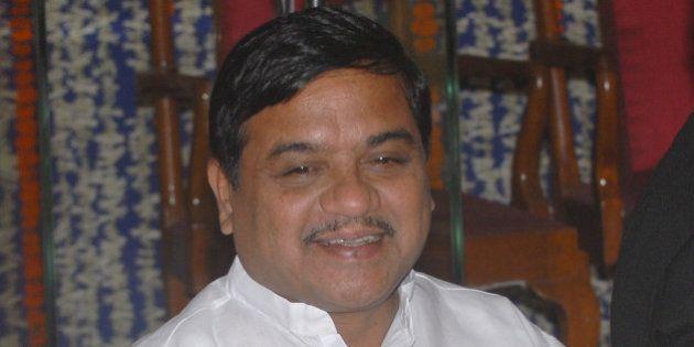 MUMBAI, INDIA � NOVEMBER 11: Maharashtra Home Minister R.R. Patil at the swearing-in ceremony of newly...