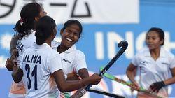 Indian Women's Hockey Team Beat Spain