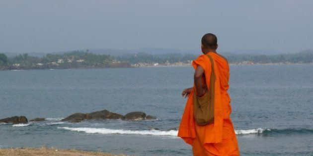 Monk at the Fort, Galle Sri