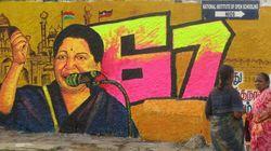 Jayalalithaa's Fan Crucifies Himself As A Birthday
