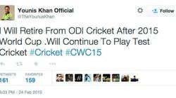 Fake Twitter Account Creates Confusion On Younis Khan's