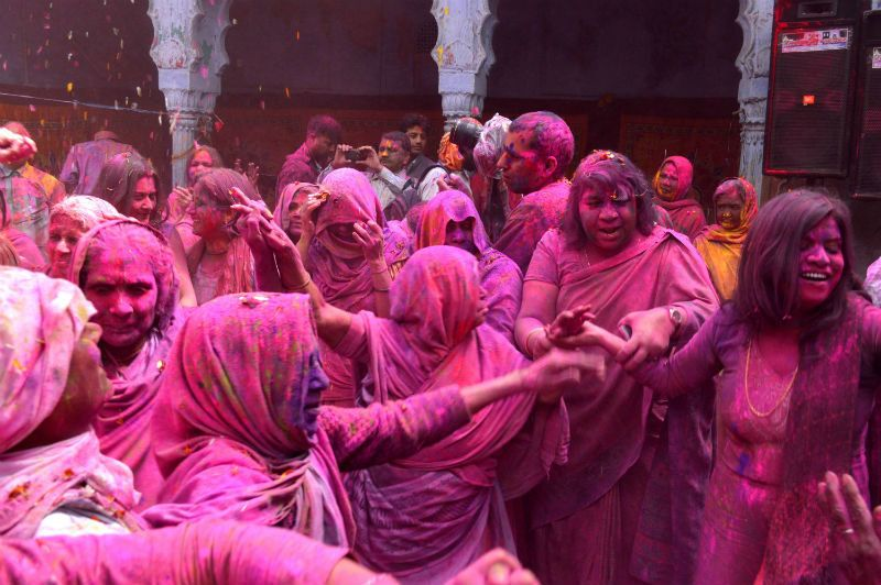 Photoblog: The Widows of Vrindavan And Varanasi Reclaim