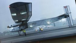 Your Future Ride? This Is What The World's First Solar-Powered Plane Looks