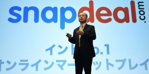 Chairman of Japanese mobile carrier SoftBank, Masayoshi Son, speaks about the company's investment over...