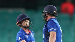 England Beat Afghanistan In Rain-Swept