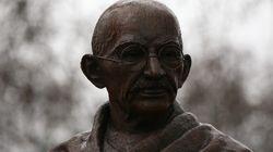 PHOTOS: Gandhi Joins Mandela And Churchill At London's Parliament