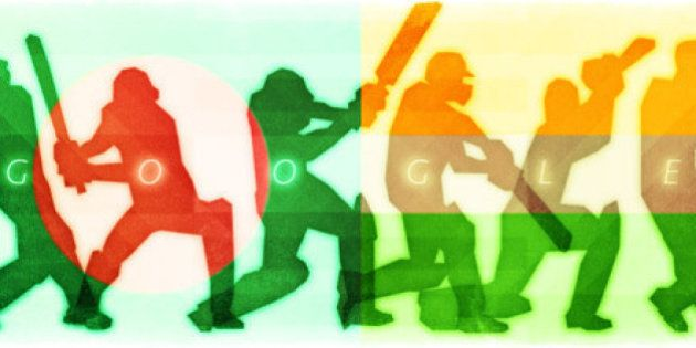 Ind Vs Ban: Google Doodle Celebrates World Cup Quarter