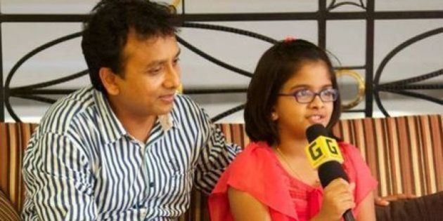 10-Year-Old Uthara Unnikrishnan Has Won The Same Award Her Father Won 21 Years