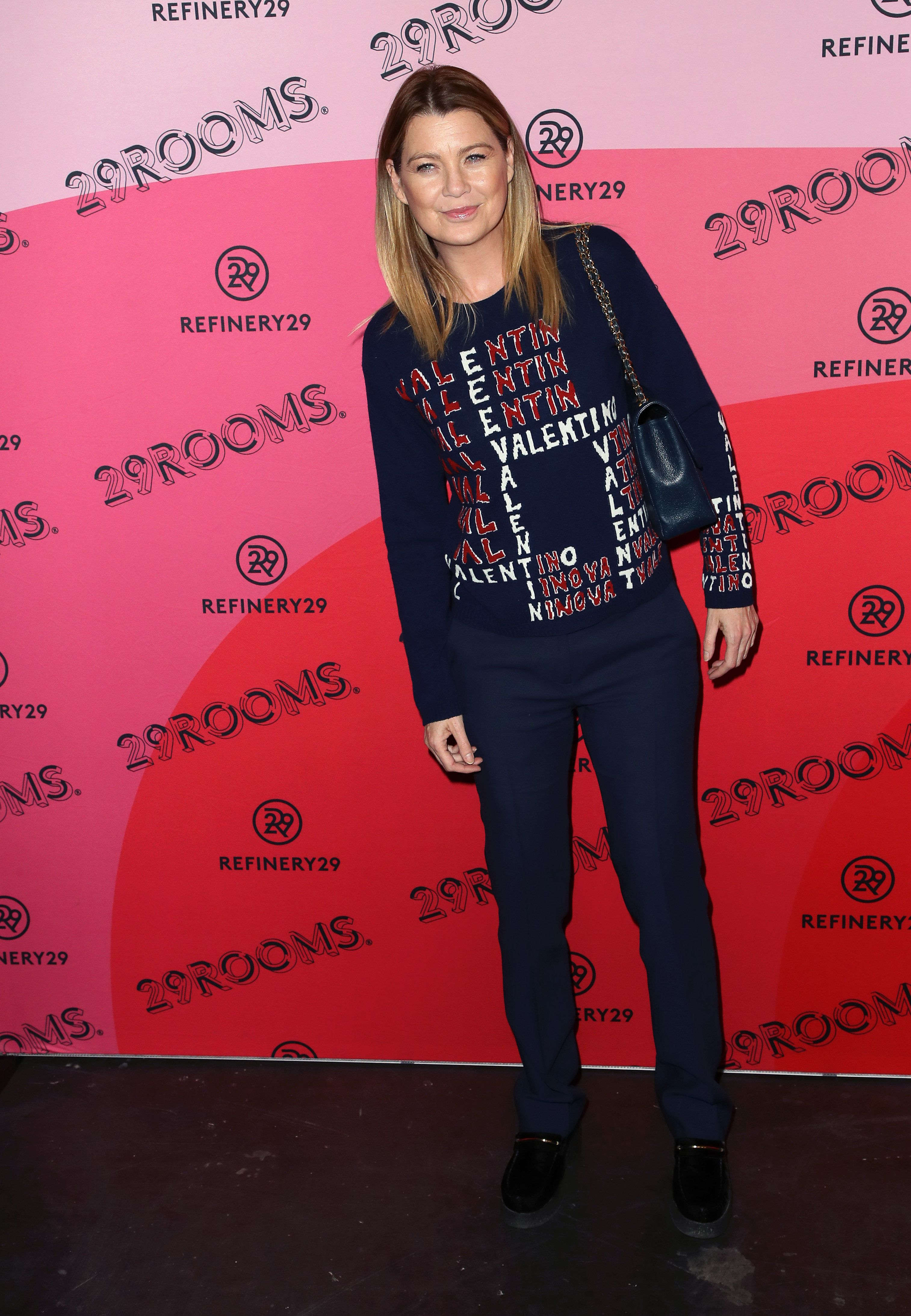 LOS ANGELES, CALIFORNIA - DECEMBER 04: Ellen Pompeo attends Refinery29's 29Rooms Los Angeles 2018: Expand Your Reality at The Reef on December 04, 2018 in Los Angeles, California. (Photo by David Livingston/Getty Images)