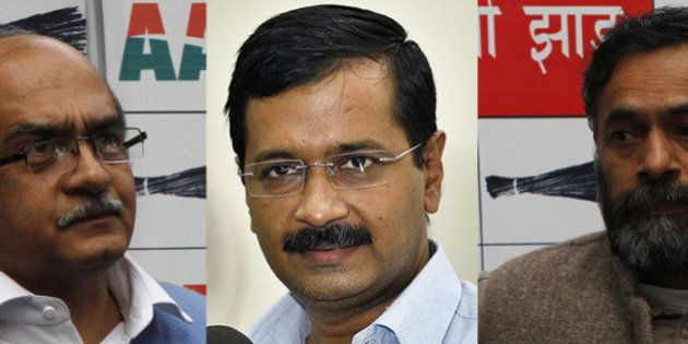Prashant Bhushan And Yogendra Yadav Ousted From AAP National