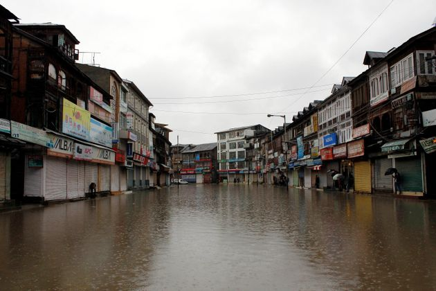 Kashmir Floods: Landslide Buries 15 People Alive As Incessant Downpour Triggers
