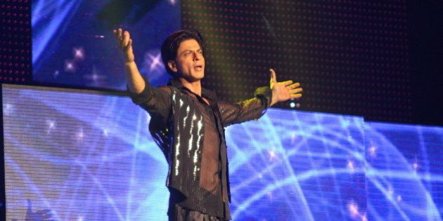 Shah Rukh Khan | SLAM The Tour - 20 September 2014 - IZOD Center, East Rutherford, New Jersey. Photo...