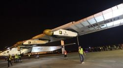 Solar-Powered Plane Solar Impulse 2 Lands In China After A 22 Hour Flight From