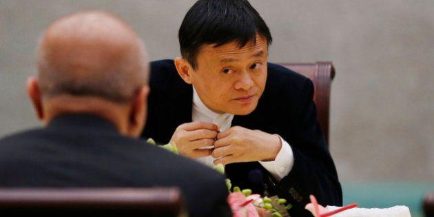 BEIJING, CHINA - MARCH 21: (CHINA OUT) Jack Ma, Chairman of Alibaba attends China Development Forum 2015...