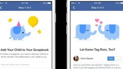 Facebook's New 'Scrapbook' Feature Helps Parents Collect Photos Of