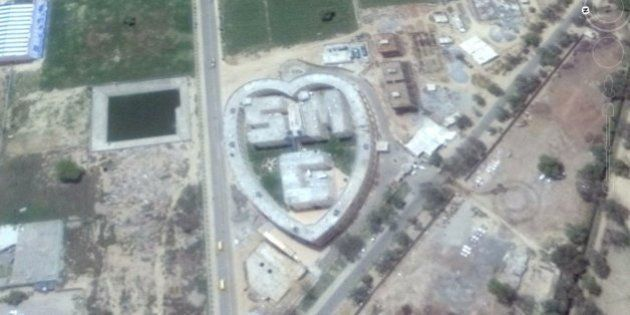 Satellite Images Show Dera Sacha Chief's Compound In Haryana Is In The Form Of A Giant