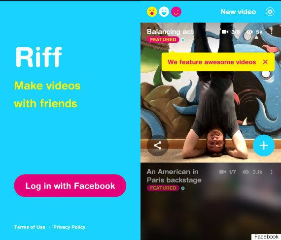 Riff: Facebook's New App Riff Helps You Make Videos With