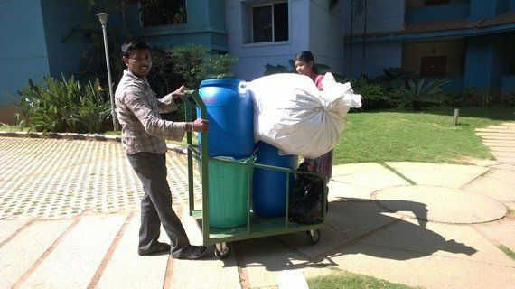 All It Took Was 2 Bins And 1 Bag For This Apartment Complex To Slash Landfill