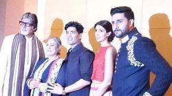 In Pics: Amitabh Bachchan, Sonam Kapoor Walk The Ramp For A Good