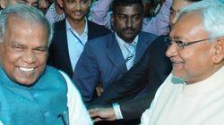 Caste Politics: RJD Men 'Purify' A Statue After Former Bihar CM Jitan Ram Manjhi Garlands
