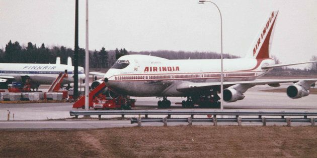 A Blast from the Past-Air India's 747-200B