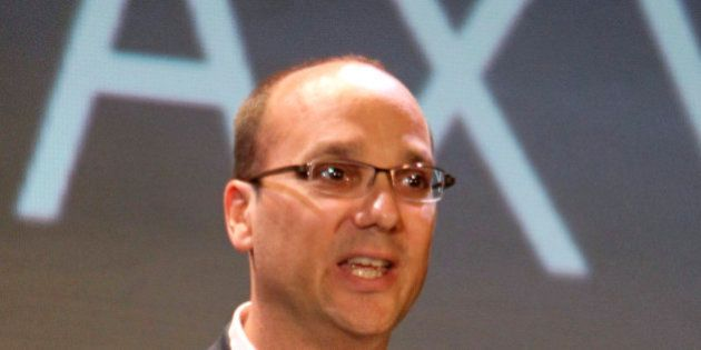 Google Vice President of Engineering Andy Rubin speaks to media about the new Samsung Galaxy S phone...