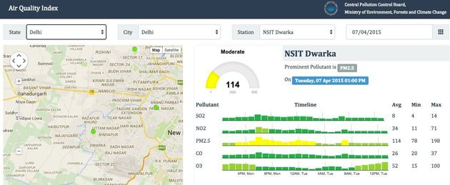 India Air Quality Index: How To Check Your City's Pollution