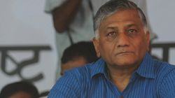 VK Singh's 'Presstitute' Comment Lands Him In Hot