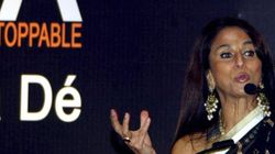 Shiv Sena Stages A Noisy Protest Outside Shobhaa De's