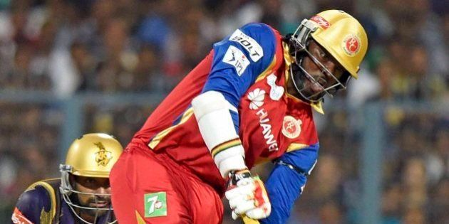 IPL 8: Gayle storm shapes Royal Challengers' victory over Knight