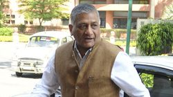 V K Singh Apologises To Media For 'Presstitutes'